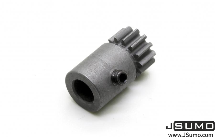 Steel Motor Pininon Gear (0,6 Module - 5mm Hole 13T)