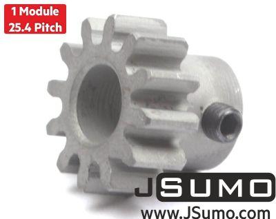 Jsumo - Steel Motor Pinion Gear (1 Module - 12 Tooth)