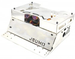 SteelWarrior Sumo Robot Kit (No Electronics - Not Assembled) - Thumbnail
