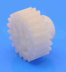 Stock Hard Plastic Spur Gear (1 Module - 20 Tooth) - Thumbnail