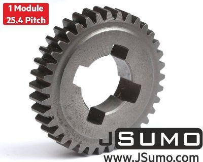 Jsumo - Stock Metal Spur Gear (1 Module - 36 Tooth)