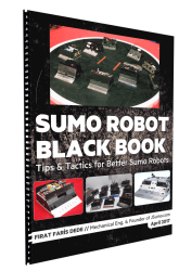 Sumo Black Book (Ebook) - Tips & Tactics for Better Sumo Robots - Thumbnail