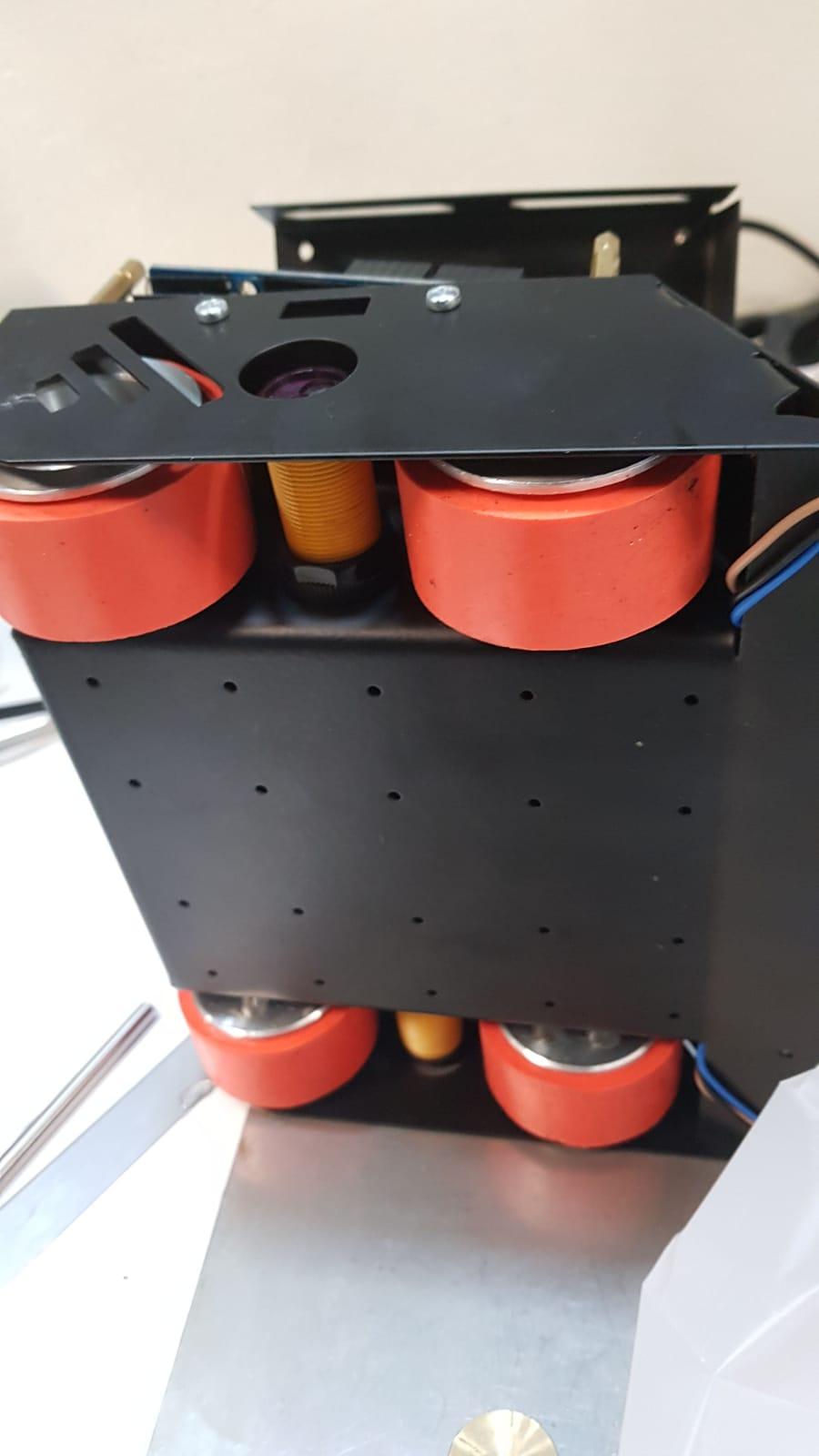 JS5230 Aluminum - Silicone Wheel Set (52 x 30mm - Pair)