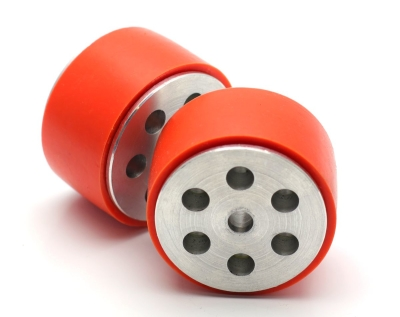 Jsumo - JS5230 Aluminum - Silicone Wheel Set (52 x 30mm - Pair) (1)
