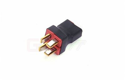 Amass - Deans (T Plug) Parallel Plug (2 In 1 Out)