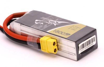Tattu - TATTU 3S 1800mah 75C Lipo (High Burst Lipo Battery) (1)