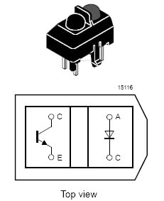 TCRT5000 Genuine Optocoupler