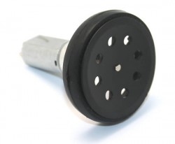 Thin Robot Wheel 47mm x 10mm (Pair) - Thumbnail