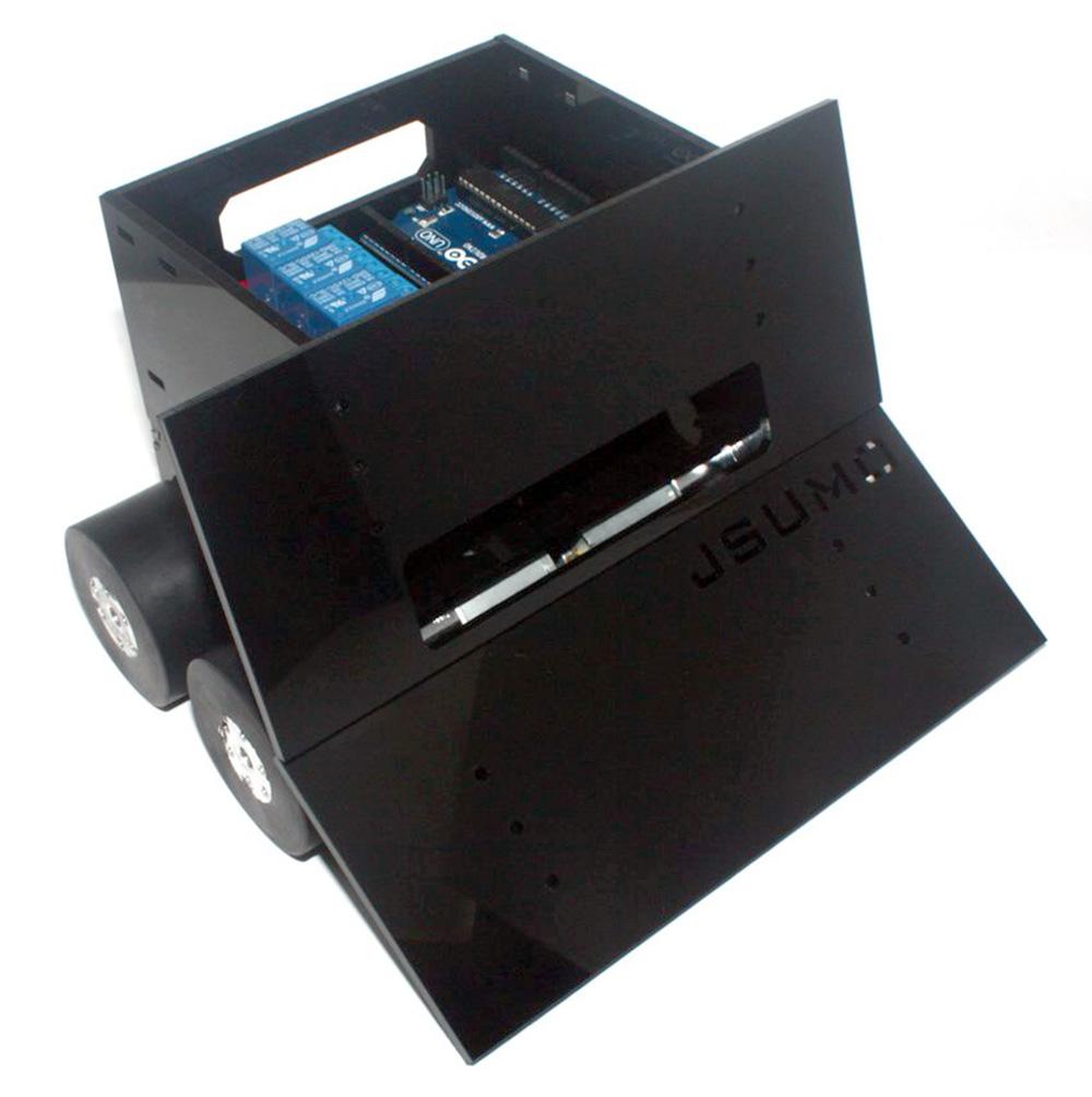 Titan 4x4 Plexiglass Sumo Robot Kit (No Electronics - Not Assembled)