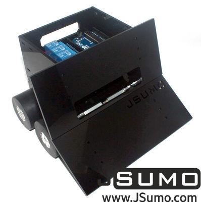 - Titan 4x4 Plexiglass Sumo Robot Kit (No Electronics - Not Assembled) (1)