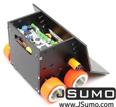 Jsumo - Titan 4x4 JSumo Sumo Robot (1)