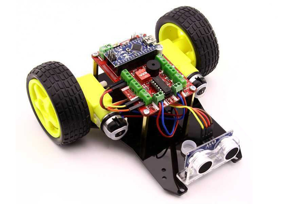 TrackBot Obstacle and Tracking Robot Kit