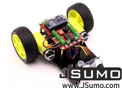 Jsumo - TrackBot Obstacle and Tracking Robot Kit