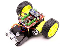 TrackBot Obstacle and Tracking Robot Kit - Thumbnail
