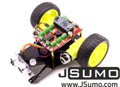 Jsumo - TrackBot Obstacle and Tracking Robot Kit (1)