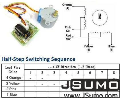 ULN2003A Stepper Motor Kit