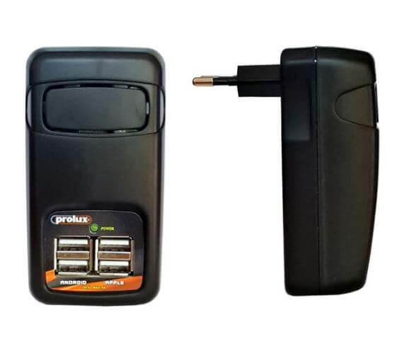 Ultra Mini USB Union AC Switching Power w/USB 100-240V