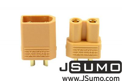 - XT30 30A Plug Lipo Battery Connector Set (Female-Male) (1)